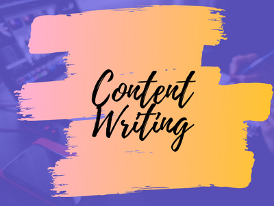 Write or rewrite content for your website