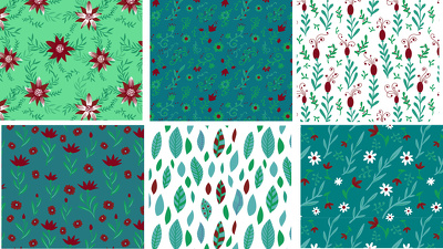 design unique vector seamless pattern