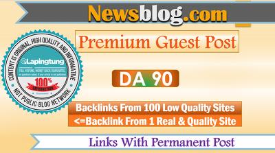 Write a Guest Post on DA90 News Blog