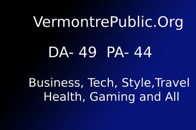 Publish guest post on VermontrePublic.Org  DA - 49 , PA - 44