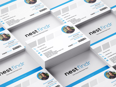 Design morden and creative professional business card