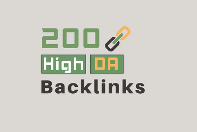 Provide 50 Plus High DA Backlinks Service For Your SEO Boost