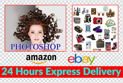 I will background removal and amazon ebay for 20 product images