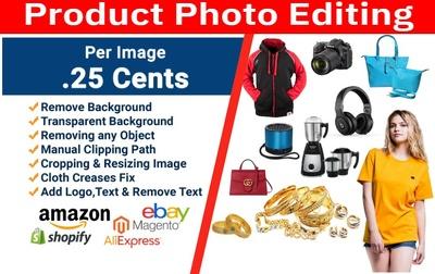 Do Product Photo Editing For Amazon, eBay, eCommerce
