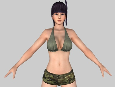 Provide you any types of beautiful 3D character  & Fantasy Model