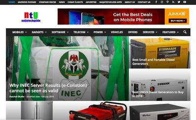 Write & Publish Guest Post On Naijatechguide.com - DA 60 - PA 50