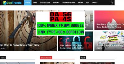 Write & Publish Guest Post on Opptrends DA 56 - Opptrends.com