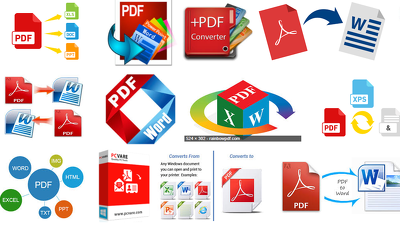 Convert Pdf To Word Excel Or Powerpnt In few Hours