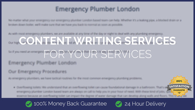 Content Writing for Your Services (1000 Words)