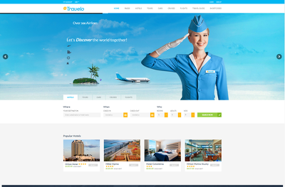 Provide travel tour hotel resort , booking wordpress website