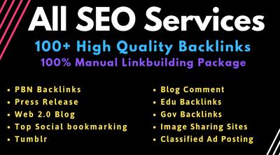 Do Manual SEO Link Building Services