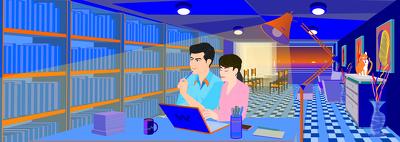 Website Banner Vector Illustration