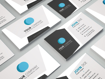 Design Professional Minimalist Business Card And Stationery