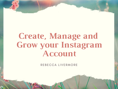 Create/ manage and grow your instagram for 7 days