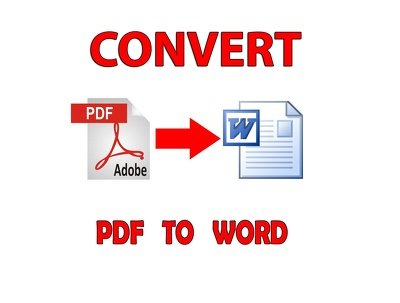 Convert Up to 25 pages of PDF to MS Word