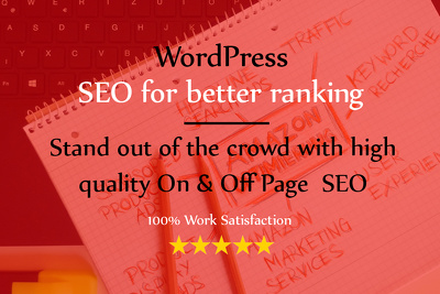Do quality white hat SEO  to rank your website higher
