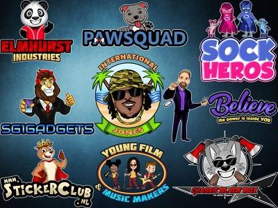 Design a professional cartoon character design/ mascot design