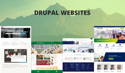 Create a Drupal website