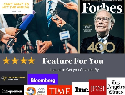 Land A Full Coverstory/Feature Publication On Forbes