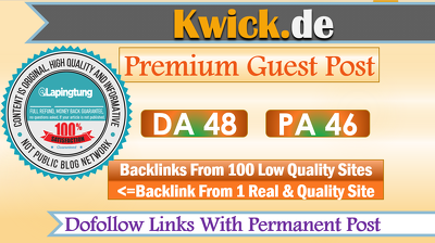Publish German Community Guest Post on Kwick - Kwick.de