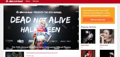Write a blog on alivenotdead.com (DA 52, PA 51 PR 5) Dofollow Li