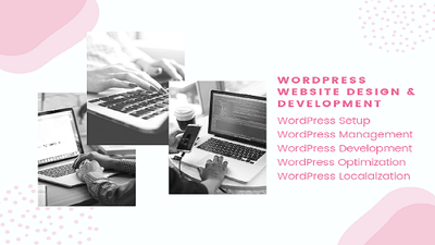 Make a business  WordPress website (5 pages)