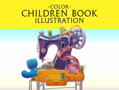 Create excellent children book illustration