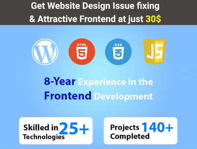 Give fix your frontend design issues at just