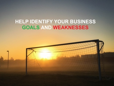 Help identify goals & weaknesses in your business for 1 hour