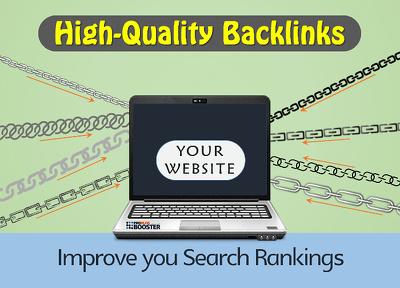 Create Manually 100 High Quality Backlinks of 50+DA/PA Sites