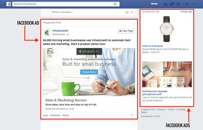 Create/optimize a facebook ad campaign for your business or page