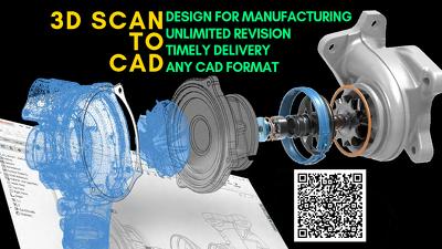 Convert 3d scan data to cad model