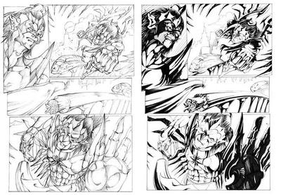 Create Marvel/DC/Realistic Style Comic