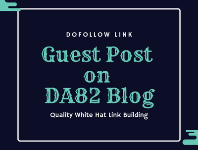 Publish Guest post on website with DA 82