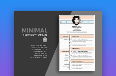MAke Professional CV , Resume and Cover Letter for your job