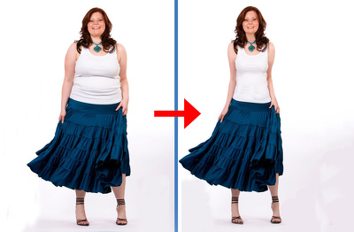 Make your body image slimmer, better and according to your needs
