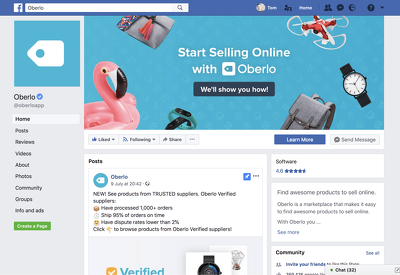 Make professional Facebook Business Page