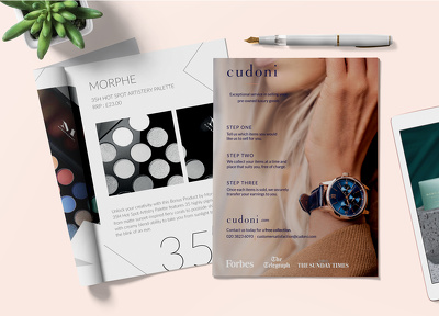 Design professional 6-page magazine, brochure or booklet