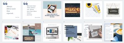 Create 20 social media editable graphic templates
