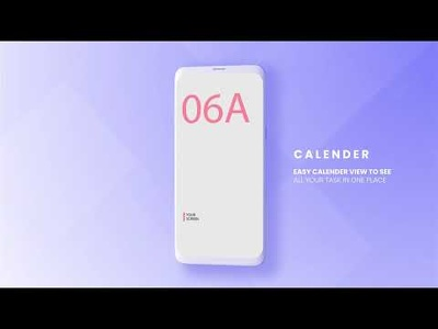 Modern Clean App Promo