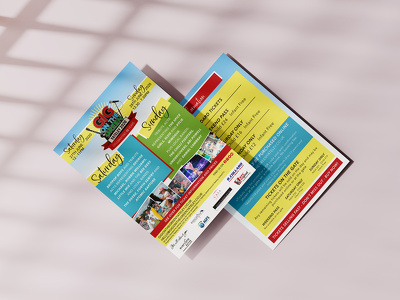 Create a double sided flyer design