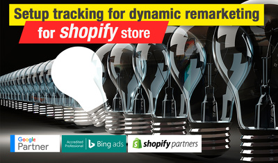 Setup tracking for Dynamic Remarketing for Shopify store