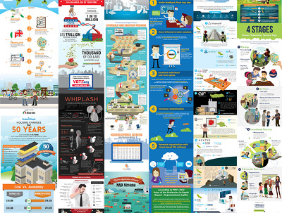 Design your infographic stunningly great and beautiful.