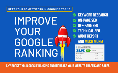 Do Website SEO And Improve Search Engine Ranking