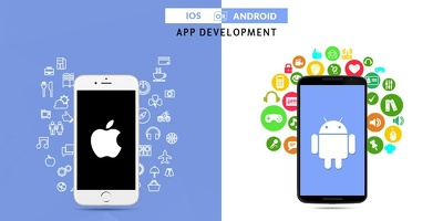 Develop mobile app for Android and iOS