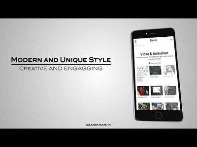 Create best app promo video