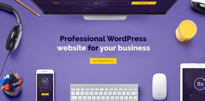 wordPress website - gorgeous, responsive and SEO friendly