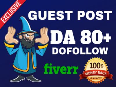 Do guest post da 90 dofollow backlink general niche blog site
