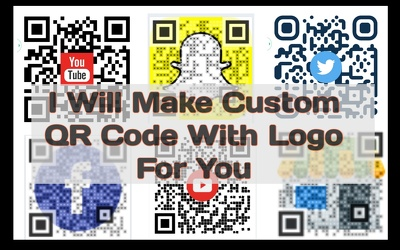 One Custom QR code