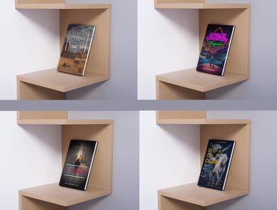 Design book cover + album cover + ebook cover